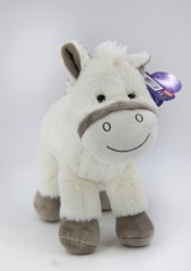 B-Plush - BÜYÜK BOY GRİ AT 33 CM